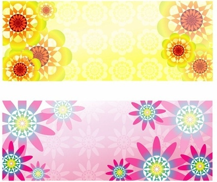 abstract flower pattern background graphic