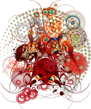abstract free vector art download