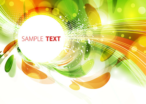 abstract garbage backgrounds vector