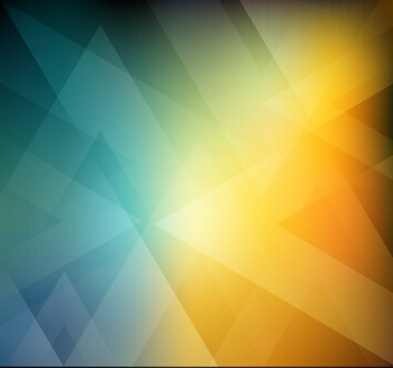 abstract geometric shapes colorful background vector