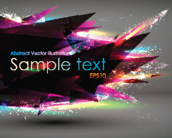 abstract geometric vector background art