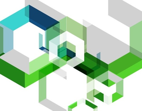 abstract geometry background vector illustration