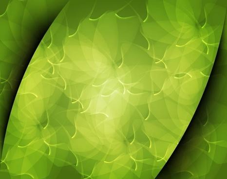 abstract green art background vector illustration