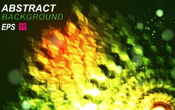 abstract background colorful light effect 3d style