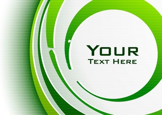 abstract swirling background green white design