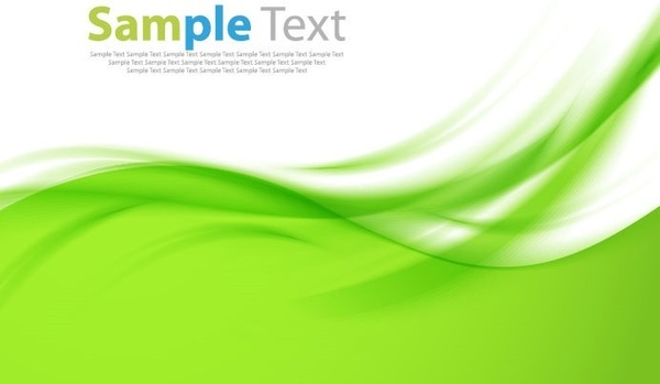 abstract green design background vector illustration