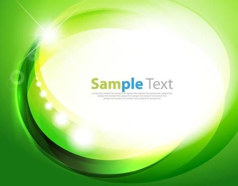 abstract green design background vector illustration art