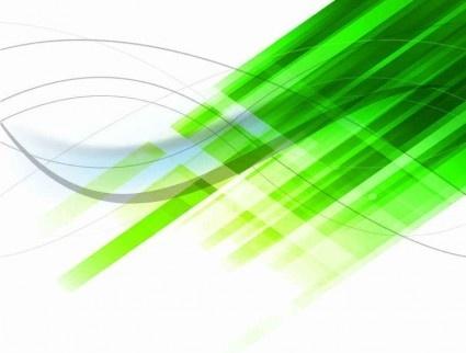 Abstract Green Design Background Vectors