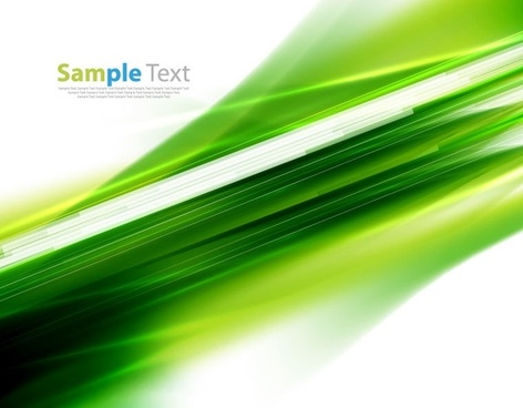 abstract green motion background vector illustration