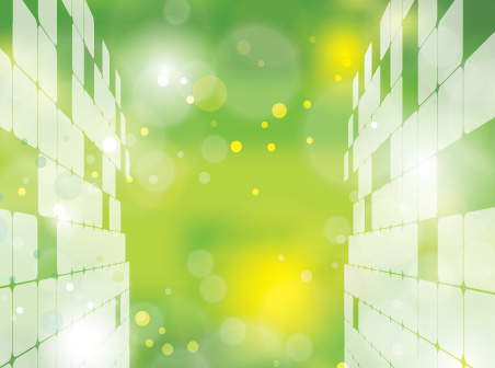abstract green world vector
