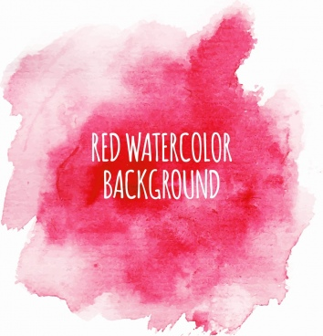 abstract grunge background watercolor red decor
