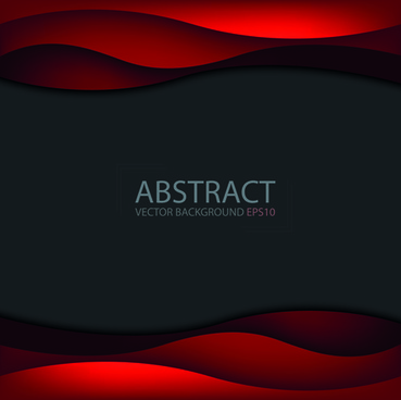 abstract layers wave art background
