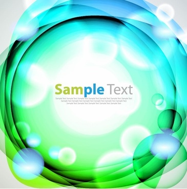 Abstract Light Blue Green Background