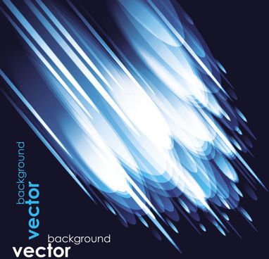 abstract light elements vector background