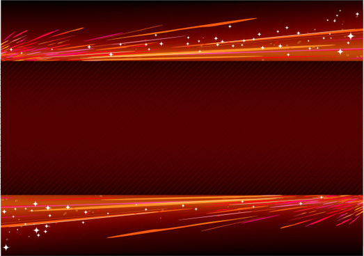 abstract light with red background vector