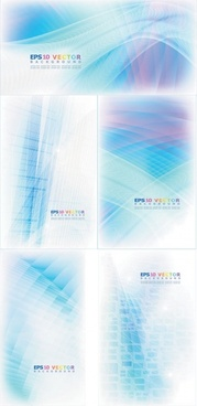 abstract lines background vector dream