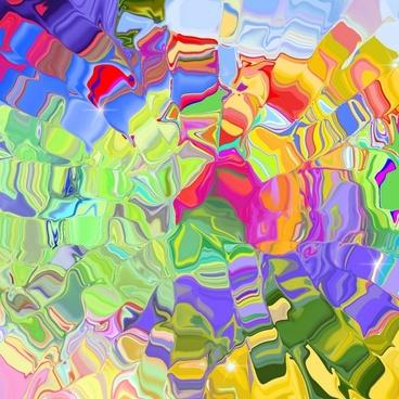 abstract liquid ice