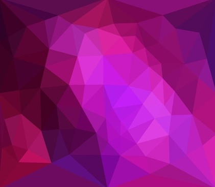 abstract low poly design background vector illustration