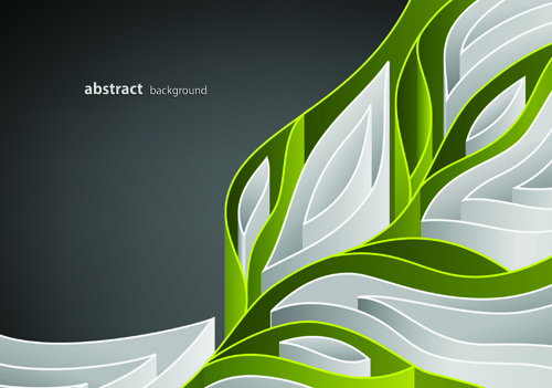 abstract maze vector background