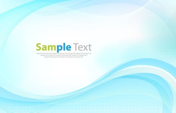 abstract nattier blue wave background vector graphic