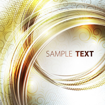 abstract of swirl waves background vector
