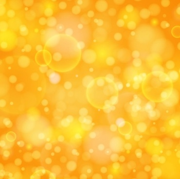 abstract orange bokeh background vector illustration