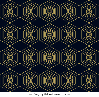 abstract pattern template symmetric geometrical polygonal illusion