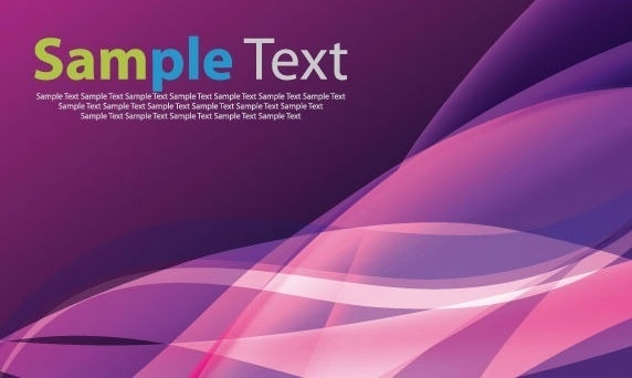 Abstract Pink and Blue Vector Background