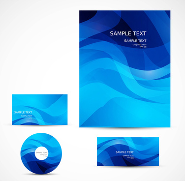 abstract professional business cd cover brochure design
