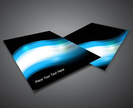 abstract professional business corporate brochure design illustration