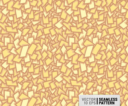 abstract quadrilateral seamless vector pattern