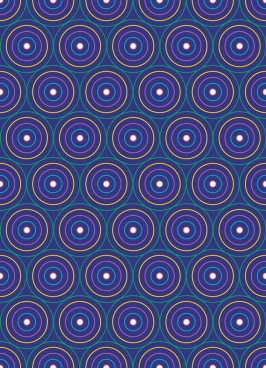 abstract seamless pattern colorful circles decoration