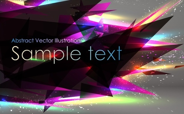abstract sharp triangles background 3d modern decoration