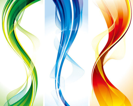abstract smooth and colorful of shiny vector background