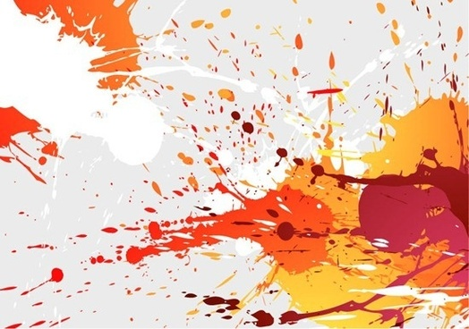 abstract splashes of colour background