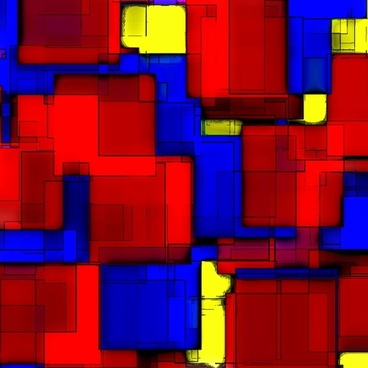 abstract squares design