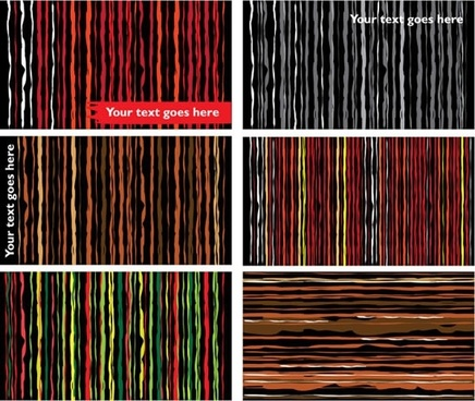 abstract pattern templates colored horizontal vertical stripes sketch