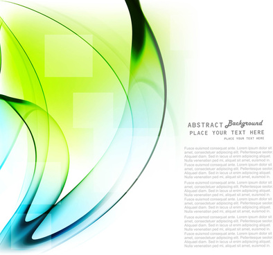 abstract technology colorful shiny wave vector design