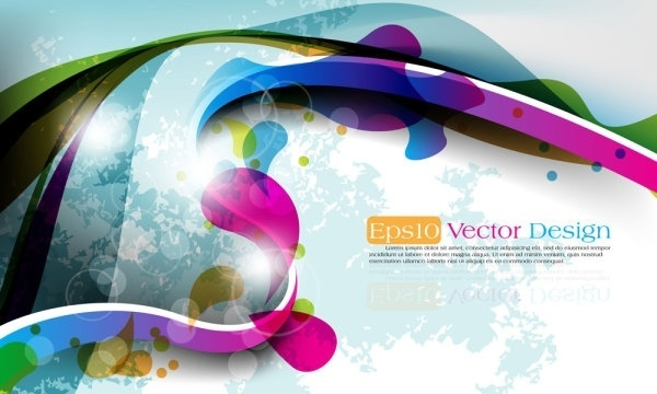 abstract vector background object 05 vector