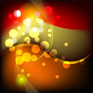 abstract contrast background swirled red bokeh design