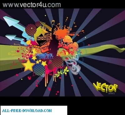 abstract vector series 1