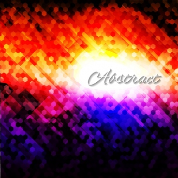 abstract vivid background blurry dazzling light effect