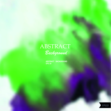 abstract watercolor blurred backgrounds vector