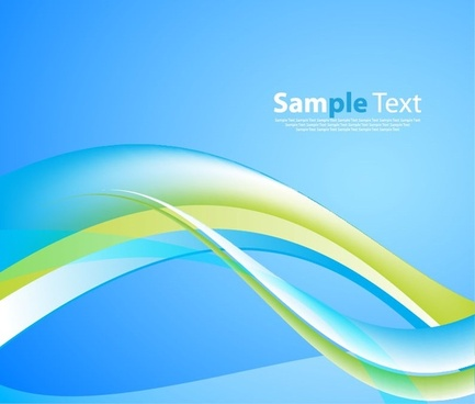 abstract wave background vector design graphic