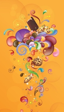 Abstract Weet Life Vector