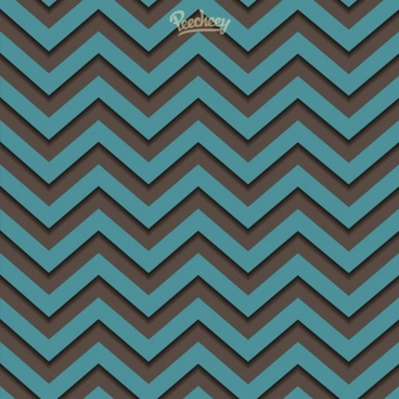 abstract zigzag seamless pattern in retro style