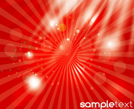 abstracts red shining