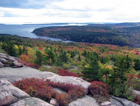 acadia national park maine landscape