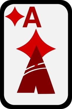 Ace Of Diamonds clip art