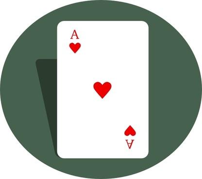 Ace Of Hearts clip art
